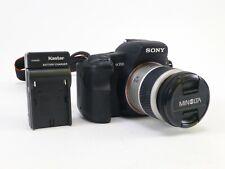 Sony A200 w/ Minolta AF 28-80 F/3.5-5.6D Lens, Battery, Charger, Neck Strap. EC.