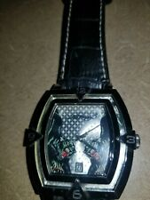 Ed Hardy RARE black panthers watch works fine