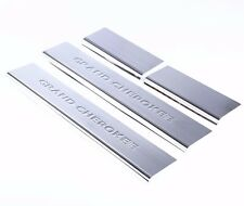 Stainless Steel Door Sill Scuff Plates For Jeep Grand Cherokee 2011-2015 2016