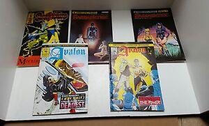 5 harrier comics swiftsure  no #15/ barberienne  no  #1 #2 / avalon   no #1 #2