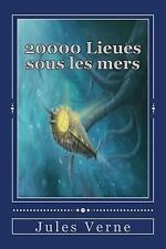 20000 Lieues Sous les Mers by Jules Verne (2016, Paperback)