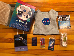American Girl Luciana Space Center Visitor Shop Accessories - Retired & Rare New