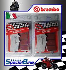 KTM RC8 R TRACK 1190 2011 > PASTIGLIE FRENO BREMBO SC 2 COPPIE RACING