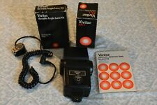 Vivitar 283 Shoe Mount Flash  with Manual and accessories Good Condition.