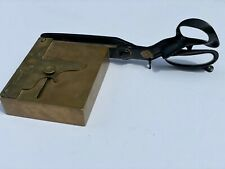 RARE ANTIQUE GEO. F. KRIEGER & CO CARD TRIMMER GAMBLING CASINO CHEATING DEVICE