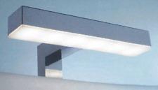 APPLIQUE DA BAGNO LAMPADA LED CROMATO PER SPECCHI ATTACCO A CORNICE,LUCE 93202