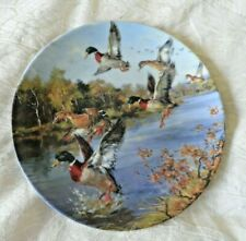 A SUPER BRADEX CABINET PLATE  - FLYING GEESE - GERMAN