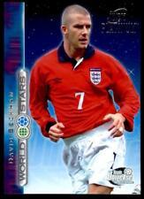 Futera World Stars 2002 - David Beckham England (Team Universe) No.47