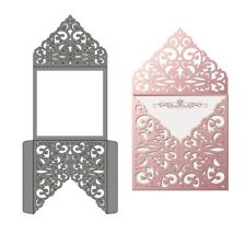 Hollow Laces Envelope Metal Cutting Dies Stencil Scrapbook Embossing Crafts