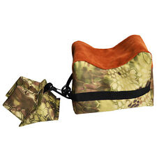 TMG Shooting Gun Rest Bag Set Front&Rear Rifle Target Hunting Bench Bag Sandbag
