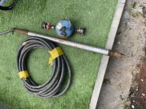 Grundomat mole 45mm With Oiler And Hose Not Fusion Or Wask Gas Industry Tools