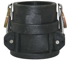 1000 litre IBC water tank 50mm camlock coupling x female BSP fittings