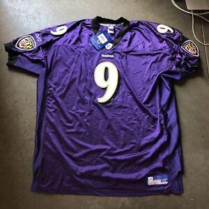 NWT Men's Reebok Authentic on Field Baltimore Ravens Steve McNair Jersey Sz 58
