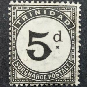 "Trinidad 1923-45, ""Postage Due"" 5d. Black (SGD22) vfu"