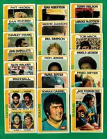 1978 Topps Football Los Angeles Rams Complete team set -