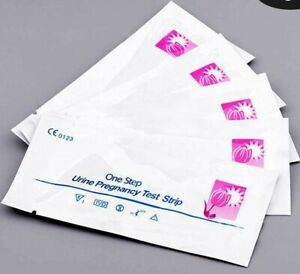 ✅ NEXT DAY DELIVERY ✅ 5x Pregnancy Test Strips Early 10mIU HCG Urine Test Kits