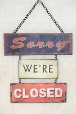 Türschild Landhausschild Sorry WE`RE CLOSED