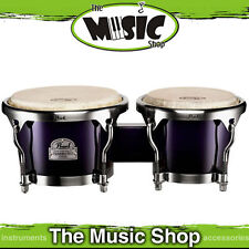 "New Pearl Primero 7"" & 8.5"" Bongo Drums - Midnight Fade Bongos - PWB100DX"