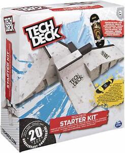 Tech Deck Fingerboard Starter Kit Ramp Set and Board BRAND NEW