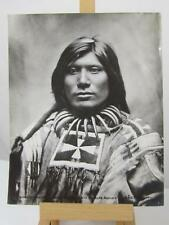 "L. A. Huffman print ""Scorched Lightning"" #84 Bearclaw Necklace Sioux"