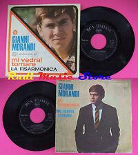 LP 45 7'' GIANNI MORANDI Mi vedrai tornare La fisarmonica italy RCA*no cd mc dvd