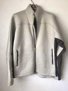 Nike Mens Full Zip Jacket XL Sphere Thermal Gray Mocha Brown Athleisure Workout