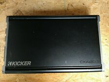 Kicker Cx1200.1 1200W Class D Mono Amplifier - Black