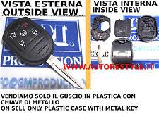SOLAMENTE CUBIERTA MANDO PARA CONTROL REMOTO FORD MUSTANG 5 BOTONES ONLY CASO 5
