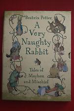 BEATRIX POTTER: A VERY NAUGHTY RABBIT - Mayhem & Mischief (HC In Slipcase; 2010)