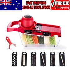 Vegetable Fruit Chopper Cutter Slicer Salad Dicer Grater Peeler Kitchen Kits AU