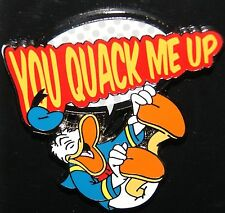 DISNEY DONALD DUCK YOU QUACK ME UP PIN JULY 2014 RELEASE NEW ON CARD