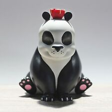 "NOODLES THE PANDA polystone 3.5"" x 4"" with PANDA Print and vinyl sticker"