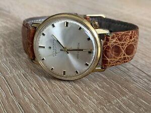 Junghans Electronic Ato Chron Quarz Herren Armbanduhr Vintage 70's Vintage 35mm