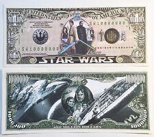 RARE: STAR WARS $1,000,000 N/Note, Movies/Film Series Buy 5 Get one FREE