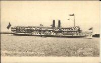 Toronto ON Steamer Kingston c1910 Unused Postcard