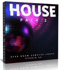 House Drums Loops Pack Two 9700 Samples FL Studio Logic Pro Cubase Reason WAV