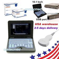 USA FedEx ,Portable laptop machine Digital Ultrasound scanner, 3.5 Convex probe