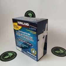 Kirkland Minoxidil 5% Hair Regrowth Solution Extra Strength Men 1 Month Supply