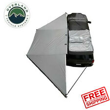 Overland Vehicle Systems Nomadic Awning 180 Dark Gray With Black Cover Universal