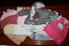 LOT de VETEMENTS bébé FILLE 6 mois robe manteau pyjama KIABI H&M DECATHLON #AFVT