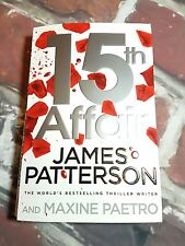 15th Affair by James Patterson (Paperback, 2016)