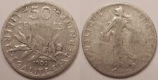 50 Centimes argent Semeuse, 1903, Rare !!