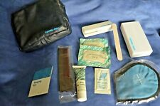 Vintage Pan Am Airlines Amenity Kit Toiletries Travel Bag Pouch