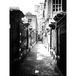 "Alley View #1 5.5""X4"" Note Card with envelope, Shanghai French Concession, China"