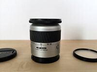 MINOLTA AF Zoom 28-80mm f/3.5-5.6 Lens w/ Quantaray 62mm UV Filter