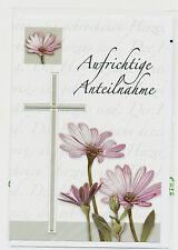 Trauerkarten Beileidskarten,5 Stück besondere Karten,Moderne Motive Trauerkarte3