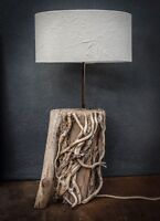 Driftwood Lamp,Rustic trunk wood Lamp,Drift Wood Lamp,Table Lamp, lamp base only