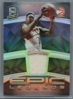 2018-19 Spectra Epic Legends Jersey Dominique Wilkins 67/99 Atlanta Hawks HOF