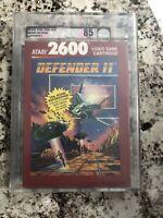 Atari 2600 VGA Defender II Factory Sealed NIB Archival Not Wata