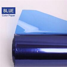 Pro 40*50cm Gels Color Balance Filter Paper for Studio Red Head Light / Blue
